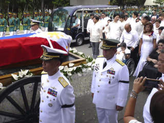 Protests After Philippine Dictator Buried With Heroes
