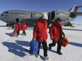 Kerry Goes to Antarctica on Climate Change Mission