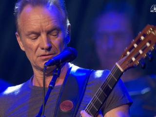 Sting Honors Paris Attacks Victims at Concert