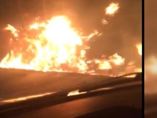 Watch Wildfires Swoop Down on Tenn. Resort Area