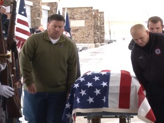 Hundreds Who Didn't Know Homeless Vet Attend His Funeral