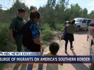 Surge of Migrants Intensifies on U.S. Southern Border