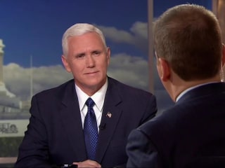 Pence: Petraeus 'Paid a Price' for Mishandling Classified Information