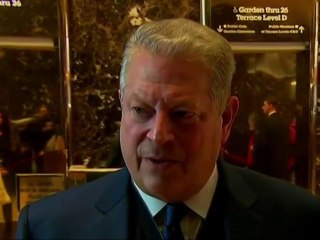 Al Gore meets with Trump at Trump Tower