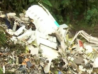 Colombia plane crash: Airline employees detained for questioning