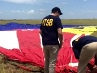Pilot of deadly hot air balloon crash had at least 6 prescriptions drugs in his system, officials say