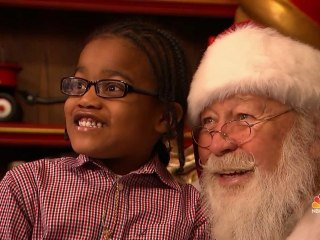 For Children with Autism, a Quiet and Intimate Meeting with Santa