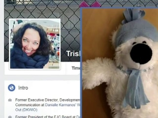 An Unlikely Reunion of a Young Girl and Her Teddy Bear Goes Viral