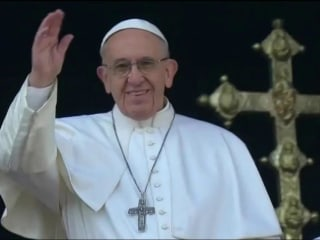 Pope Francis calls for peace in Syria during Christmas Day message