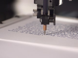 This Robot Writes In Your Handwriting