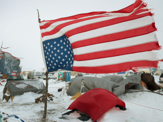 Veterans Stand Ground with Pipeline Protesters at Standing Rock