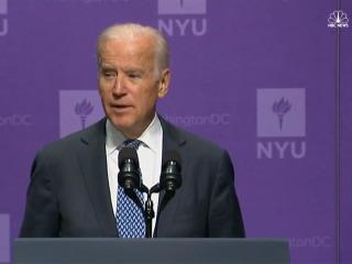 Biden: 'I Find Myself Embarrassed' By 2016 Campaign