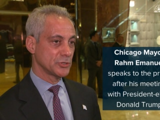 Rahm Emanuel Meets with Trump to Save DACA for DREAMers