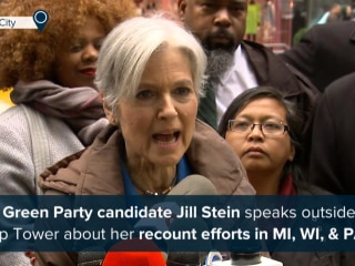 Jill Stein to Trump: 'End Your Intimidation' Over Recounts