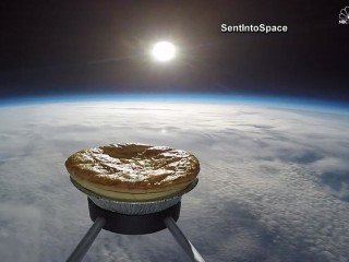Pie Flies Sky High for Science Experiment