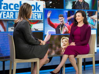 Facebook exec Sheryl Sandberg: We don't think fake news swayed election