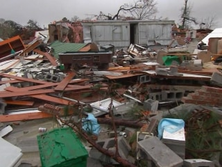 Deadly tornadoes sweep across 7 Southern states