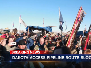 Army Corps Denies Dakota Access Pipeline Route