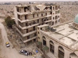 Aleppo Drone Footage Reveals Full Extent of Destruction