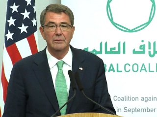 Ash Carter to Trump Team: U.S. Must Lead Fight Against ISIS