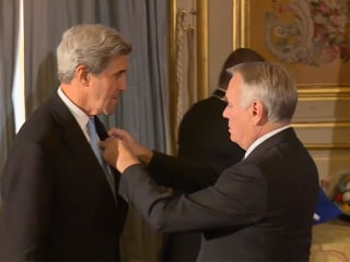 John Kerry Awarded France's Legion of Honor