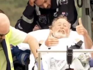 65-Year-Old Surfer Still Smiling Despite Shark Attack