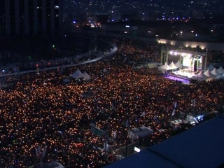Sea of Millions Protest Against South Korean President Park Geun-hye