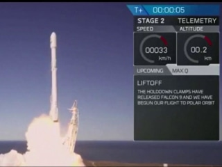 New satellites orbit Earth after successful SpaceX launch
