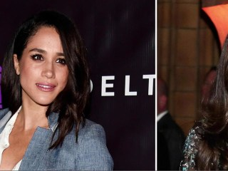 Duchess Kate meets Prince Harry's girlfriend Meghan Markle