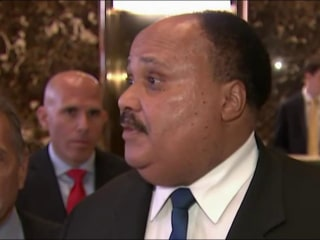 Martin Luther King III recaps Trump meeting