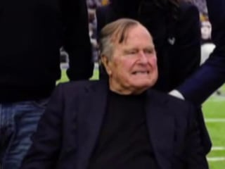 President George HW Bush, wife hospitalized