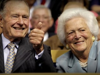 Pres. Bush and Barbara Bush Hospitalized in Texas