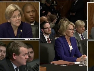 Trump's Education Nominee Grilled Over Inexperience