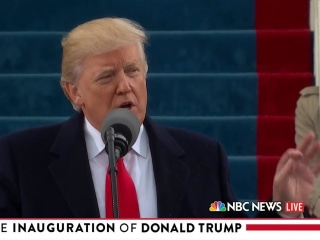 """""""You will never be ignored again,"""" Trump tells Americans"""