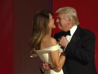 Watch President Trump and First Lady's First Dance