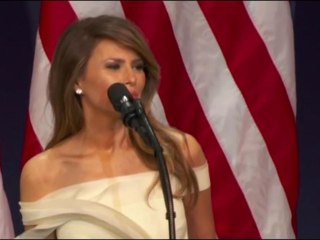 Melania Trump: 'I'm Honored to Be Your First Lady'