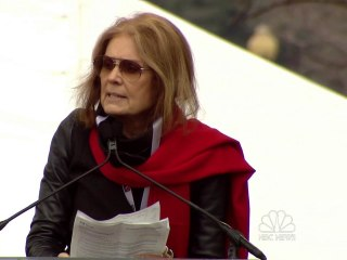 Gloria Steinem at Women's March: 'Don't Try to Divide Us'