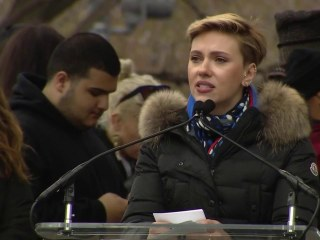 Scarlett Johansson Calls on Lawmakers to Support Planned Parenthood