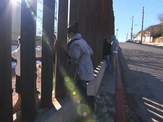Families Fear Wall Will Tear Them Apart