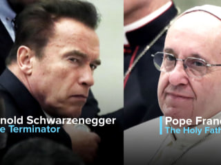 The Terminator and the Pope Team Up Against Climate Change