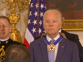Obama Awards Presidential Medal of Freedom to Biden