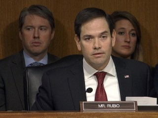 Marco Rubio Clashes with Tillerson Over Putin During Hearing