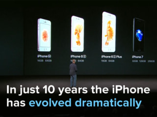 A look back at 10 years of iPhone