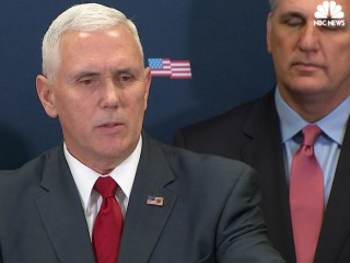 Pence: First order of business is to repeal, replace Obamacare