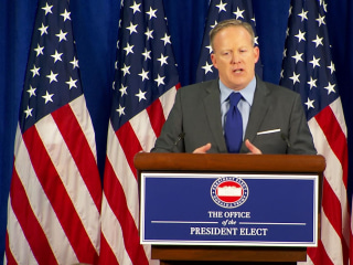 Sean Spicer, Incoming Press Secretary, Says Trump Has Gone 'Above and Beyond' on Conflicts of Interest