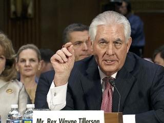 Tillerson: 'Risk of Climate Change Does Exist'