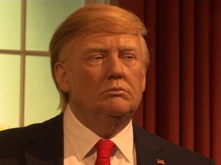 Donald Trump's Wax Statue Gets A Presidential Update