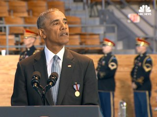 Obama Praises Armed Forces at Farewell Ceremony: 'It Has Been a Privilege'