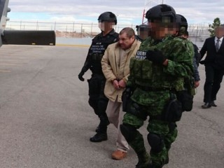 'El Chapo' in Chains as He's Extradited to the U.S.