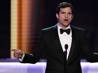 Ashton Kutcher Tells People Stranded by Travel Ban: We Love You